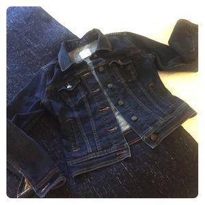 Old Navy Dark Wash Denim Jacket xs